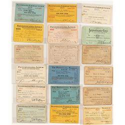 Pennsylvania Railroad Pass Collection