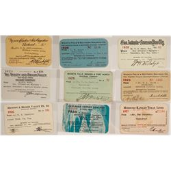 Texas Railroad Pass Collection