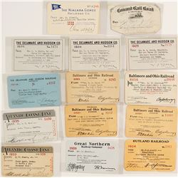 Eastern U.S. Railroad Pass Collection