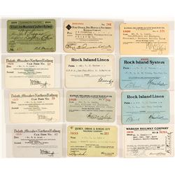 MidWest Railroad Pass Collection