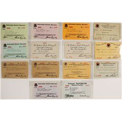 Northern Pacific Railway Pass Collection