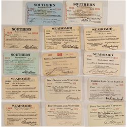Southern U.S. Railroad Pass Collection