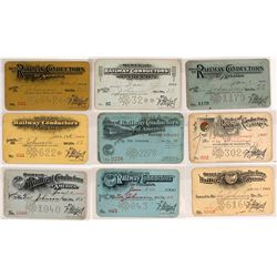 Order of Railway Conductors of America Pass Collection