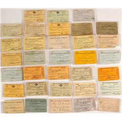 Pullman Company Pass Collection