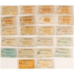 Western Pacific Railroad Pass Collection