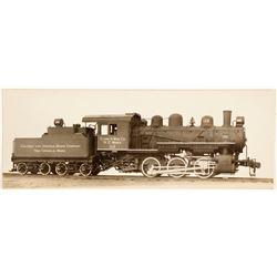 Calumet & Arizona Mining Co. Locomotive Photo