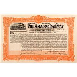 Amador Railway Bond
