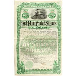 Rock Island, Peoria & St. Louis Railway Company Bond