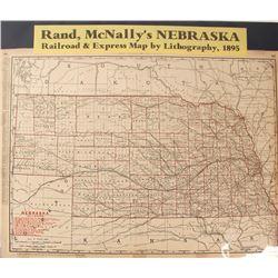 Map of Nebraska Railroads