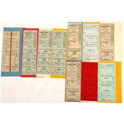 V&T TIcket Collection