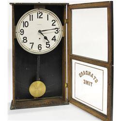 Antique standard time wall clock