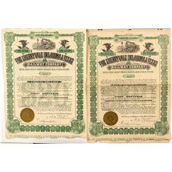 Cherryvale Oklahoma & Texas Railway Company Bonds
