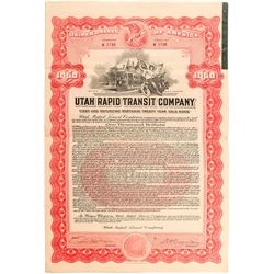 Utah Rapid Transit Co. Bond