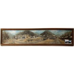 Chesapeake & Ohio Railway Framed Panorama, c1905