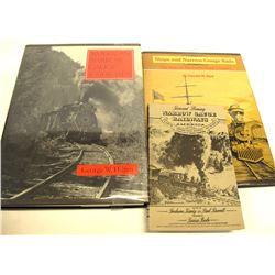 Narrow Gauge Railroad Books (3)