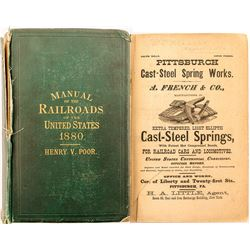 Poor's Manual of Railroads Of the US 1880