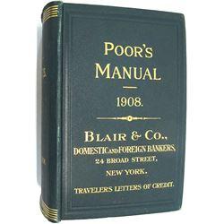 Poor's Manual, 1908