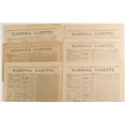 Mariposa Gazettes from 1876 (6)