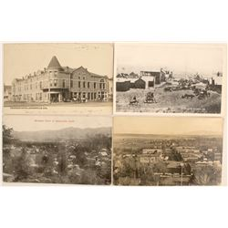 4 Old RPC Postcards from Susanville, CA