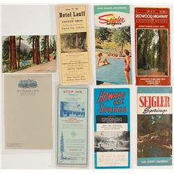 Lake, Mendocino, & Humboldt County Ephemera