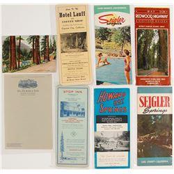 Lake, Mendocino, & Humboldt County Ephemera