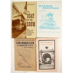 Southern California and Harbor Coast History Books (3)
