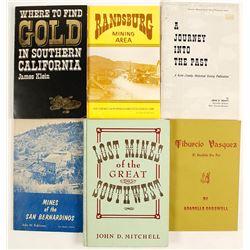 Southern California Gold Rush Books (6)