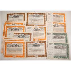 Bank of Manitou Certificates (23)