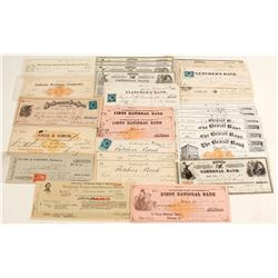 Indiana Check Collection - RN's and nice vignettes