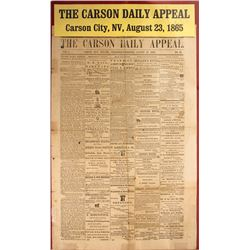 Carson City Daily Appeal Newspaper