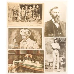 Famous Nevada People Postcards