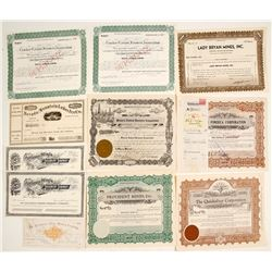 Nevada and Related Stock Assortment (11)