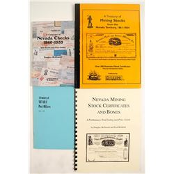 Nevada Check and Stock Collecting Books (4)