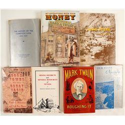 Nevada History and Mining Books (7)
