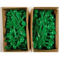 Nevada Lodge and Nevada Club Plastic Spoons