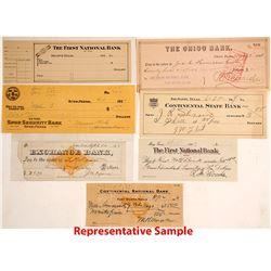 Texas Check Collection