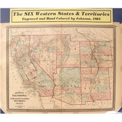 Map of 6 Western States & Territories