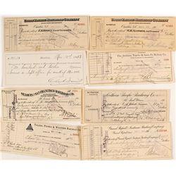 US Railroad Check & Receipt Collection