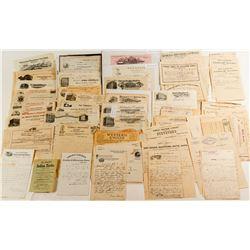 Billhead and Letterhead Collection (100+)