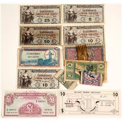 Military Payment Certificate Collection