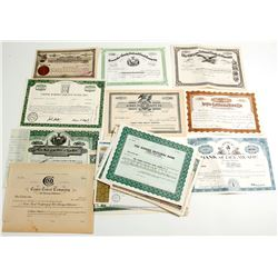 Stock Certificates (approx. 40)