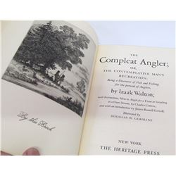 The Compleat Angler by Walton