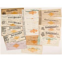 US Revenue-Imprinted Checks incl. Green Nevada