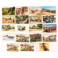 Wagon and Stage Postcard Collection