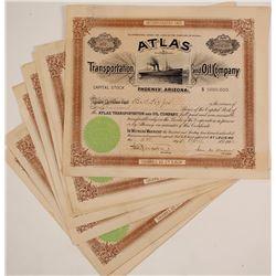 Atlas Transportation and Oil Co Stocks (9)
