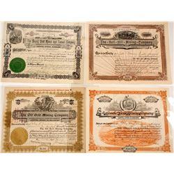 Cripple Creek, CO Mining Certificates
