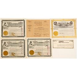 Colorado Stock Certificate Group