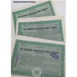 Goldfield Consolidated Mines Stock Certs (2000)
