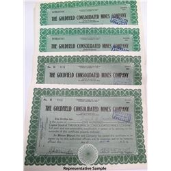 Goldfield Consolidated Mines Stock Certs (2600)