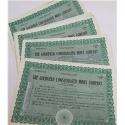 Goldfield Consolidated Mines Stock Certs (2800))
